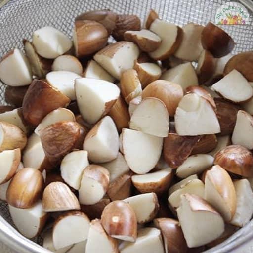 Peeled Sliced Jackfruit Seeds My Online Vipani