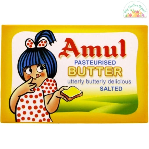 Amul Butter Pasteurised Salted My Online Vipani