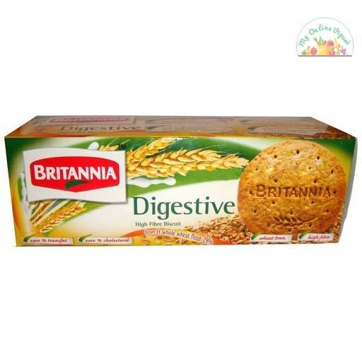 Britannia Nutri Choice Digestive Hi Fibre 225 Gm
