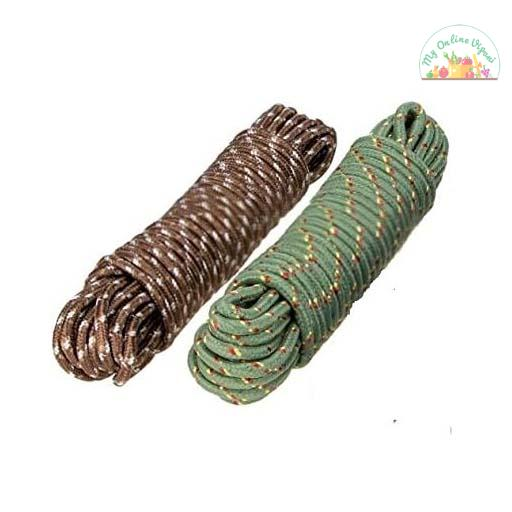 Clothes Nylon Braided Cotton Rope 20 M