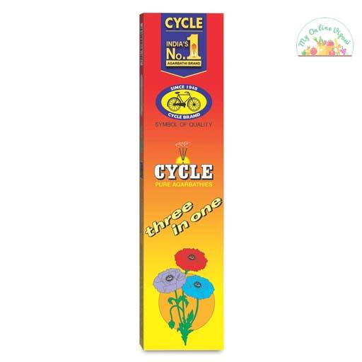Cycle Pure Three In One Agarbathies Classic Incense Sticks With Woody
