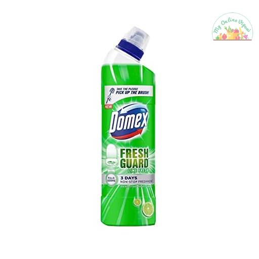 Domex Fresh Guard Lime Fresh Disinfectant Toilet Cleaner 750 Ml