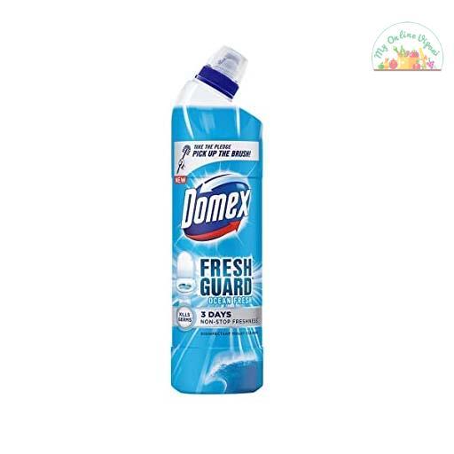 Domex Fresh Guard Ocean Fresh Disinfectant Toilet Cleaner 750 Ml