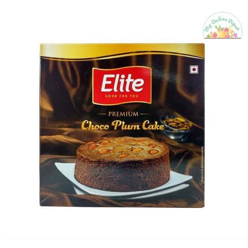 Elite Choco Plum Cake 330 Gm