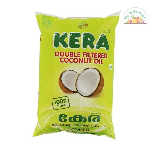 Kera Double Filtered Pure Coconut Oil Velichenna1Ltr