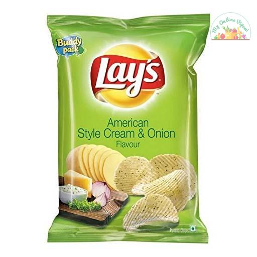 Lays American Style Cream N On – Lst