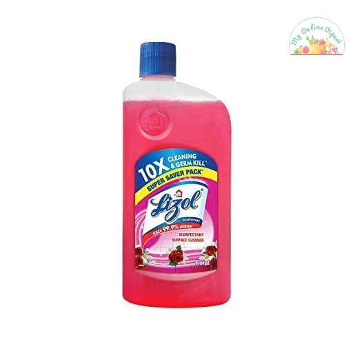 Lizol Disinfectant Floor Cleaner Floral 975mL