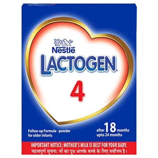 Nestle Lactogen 4 Follow Up Formula Powder After 18 months upto 24 months Stage 4 400g BIB Pack My Online Vipani