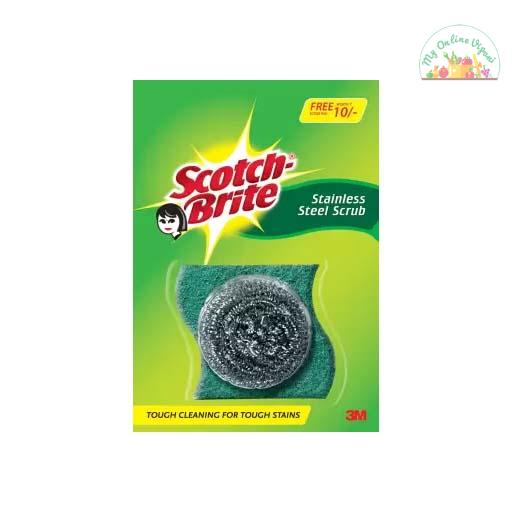 ScotchBrite Stainless Steel And Scrub Pad