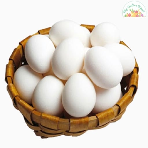 White Poultry Egg Mutta Pack Of 10 My Online Vipani