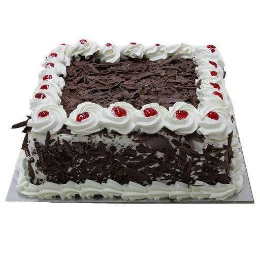 Black Forest Cake square 1kg