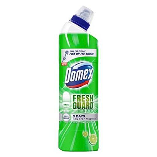 Domex Toilet Cleaner Lime Fresh Clean 500ml