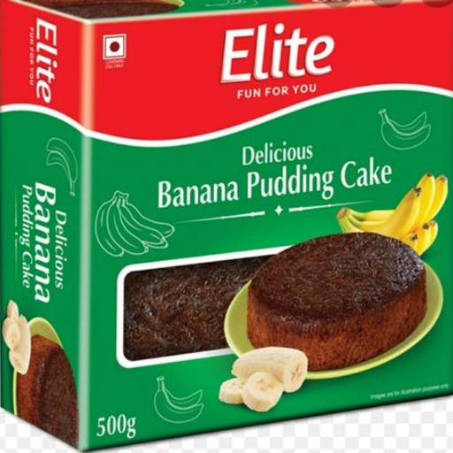 Elite Banana Pudding Cake 250gm