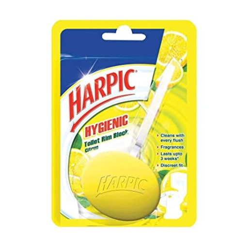 Harpic Toilet Rim Block Citrus 26gm