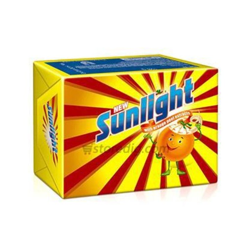 Sunlight With Orange Peel Extracts Wash Soap