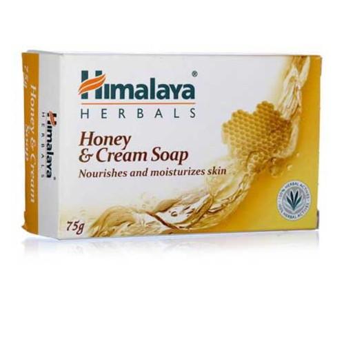 himalaya honey and cream soap 75gm
