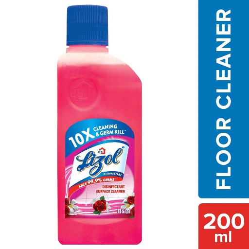 Lizol Disinfectant Surface Cleaner Floral 200ml