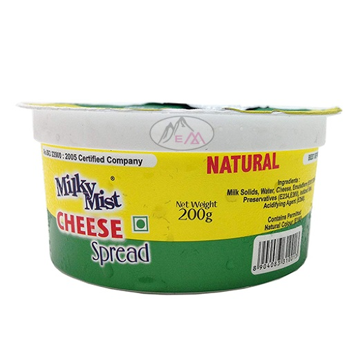 Milky Mist Cheese Spread Natural