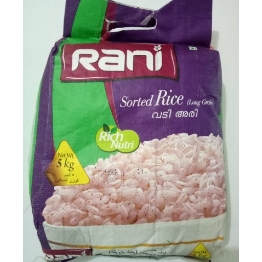 RANI SORTED RICE 5kg