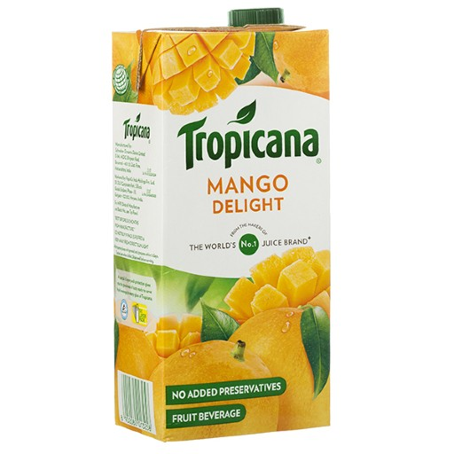 TROPICANA JUICY MANGO 1 L