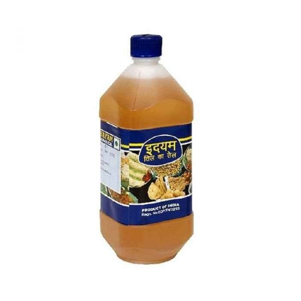 Idhayam Gingelly Oil Nallenna Bottle 1Ltr