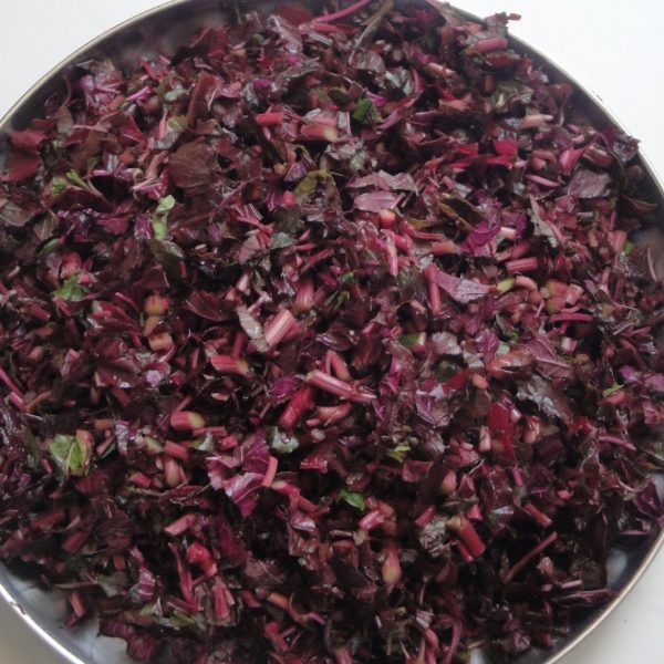 Chopped Red Spinach 250gm