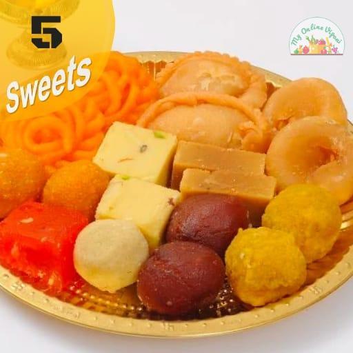 Diwali Sweet Box 5 Items