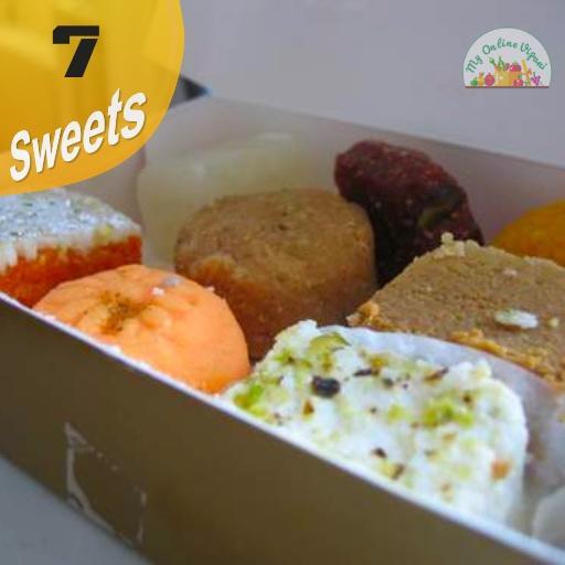 Diwali Sweet Box 7 Items