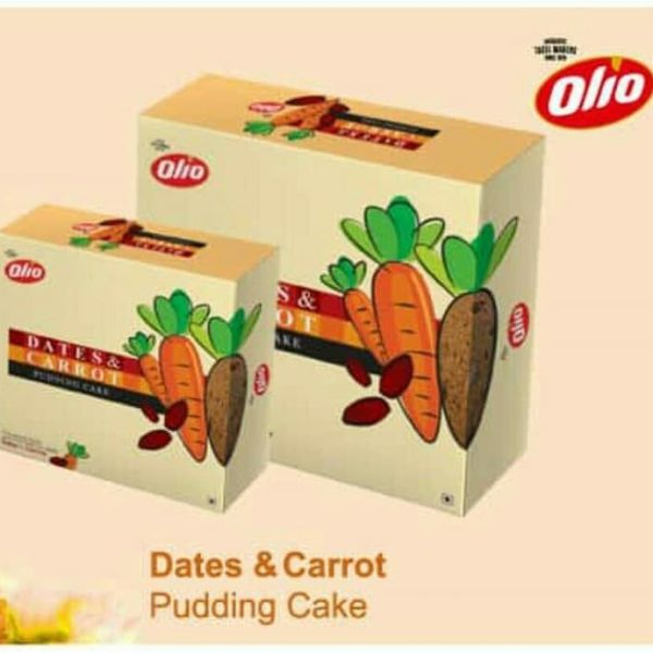 Olio Dates Carrot Pudding Cake