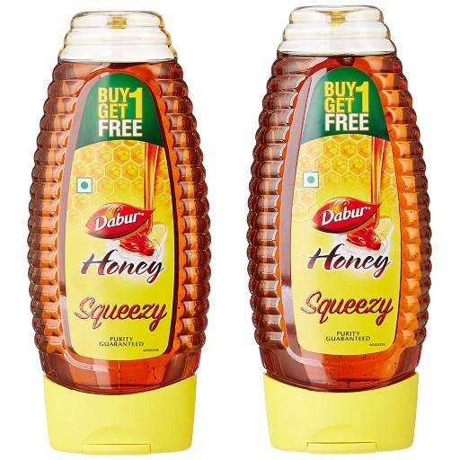 Dabur Honey Pure Squeezy 400g Buy 1 Get 1 Free