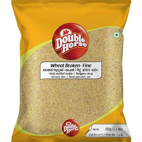 Double Horse Wheat Broken Fine 500gm