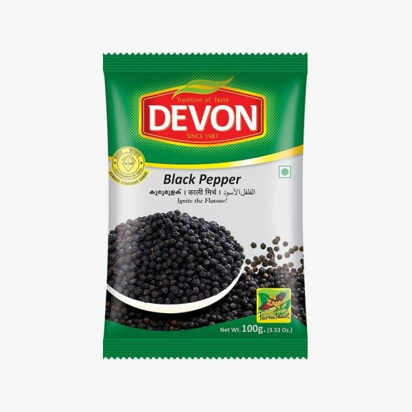 DEVON Black Pepper 50gm