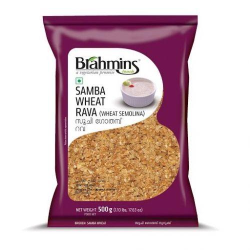Brahmins Samba Wheat Rava 500gm